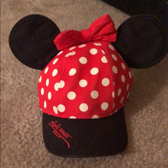 Disney Accessories - Minnie Mouse Ear Hat and Ears! ea9d649cda74
